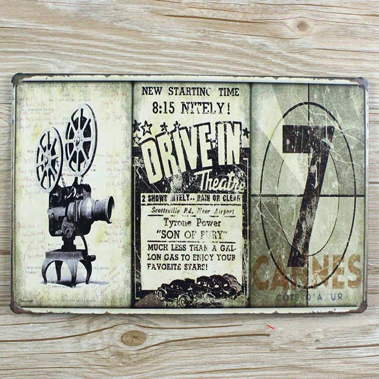 SP-QT-0012  NEW 2015 metal painting vintage tin signs