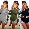 Женская мода Леди Свободные Длинным Рукавом Повседневная Блузка Рубашка Топы Новая Мода Верхней Части Кофточки Большой Размер