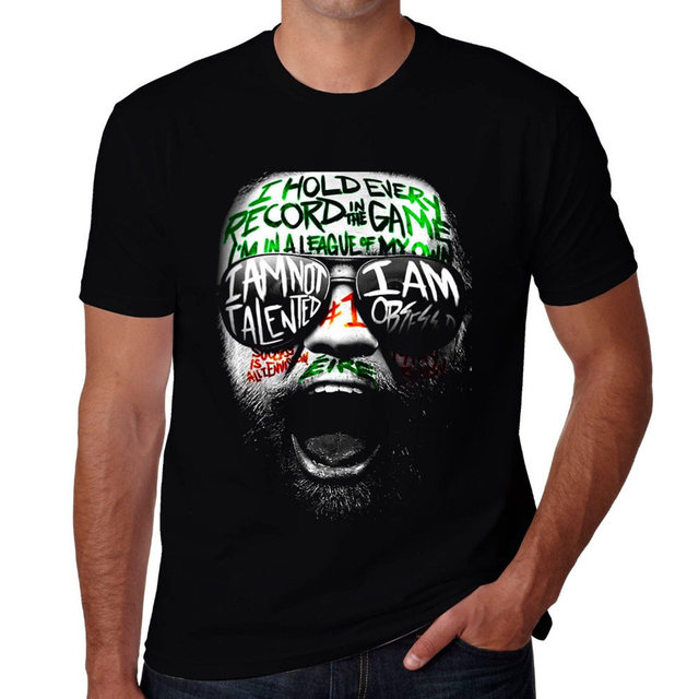 0a7b0a822 CONOR MCGREGOR NOTORIOUS MMA HUNT IRELAND IRISH T shirt men's tee big size S ~XXXL