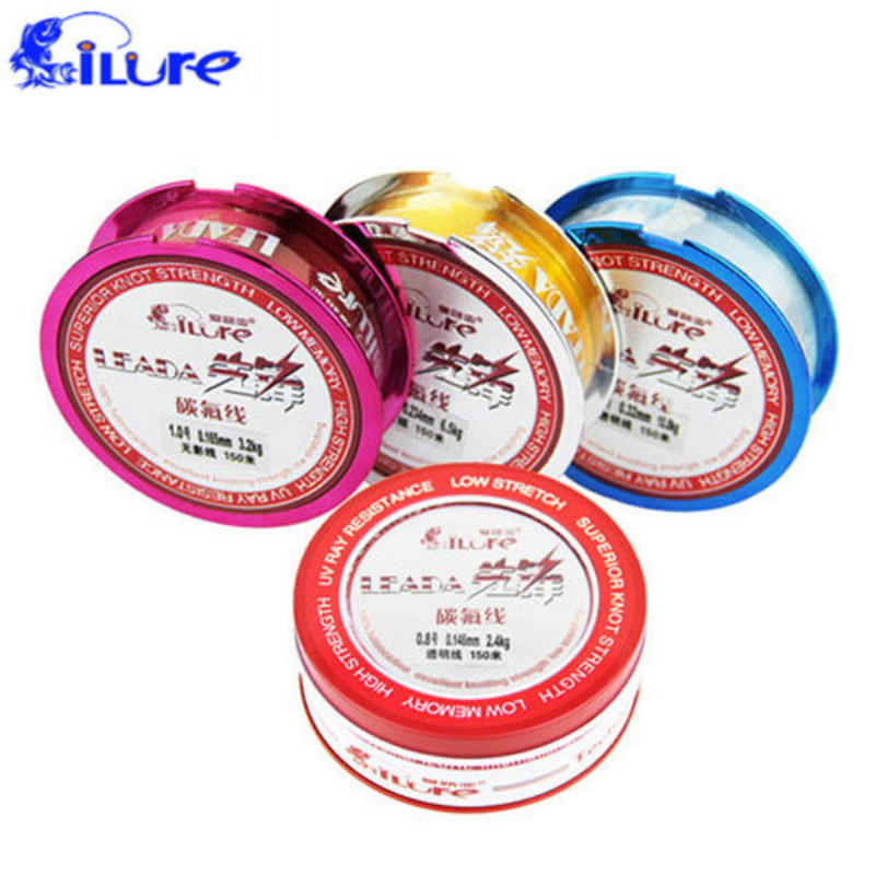 Fishing Line Fluorocarbon Fishing 150m High Quality Japanese Fluorocarbone Line Sedal De Pesca Free Shipping