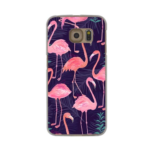 Luxury Cartoon bird Case For Samsung Galaxy Grand Prime S6 S7 Edge S8 S9 Plus J1 J5 J7 A3 A5 A7 2016 2017 Hard PC flower Cover