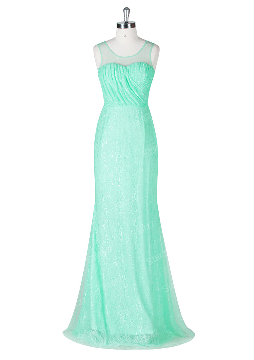Aquamarine Evening Dress