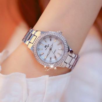 2019 Hot Sale Luxury Brand Diamond Watch  Ladies Watch Fashion Quartz Female Wristwatch Women Watches Reloj Mujer Relogio hot sale white leather women watch world map watches jewelry for women luxury quartz fashion brand wristwatch relogio femininos