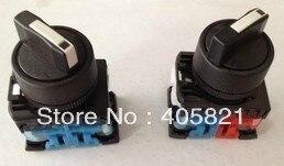 1N/O + 1N/c Стандартный ручка 3 позиции Выберите Переключатель ar22pr-3-11b монтажного отверстия 22 мм