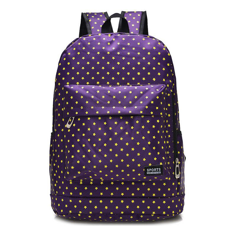 53c8de046612 kanken classic canvas backpack dot big capacity student school bag casual  travel backpack Cute Korean style shoulder bag-in Backpacks from Luggage    Bags on ...