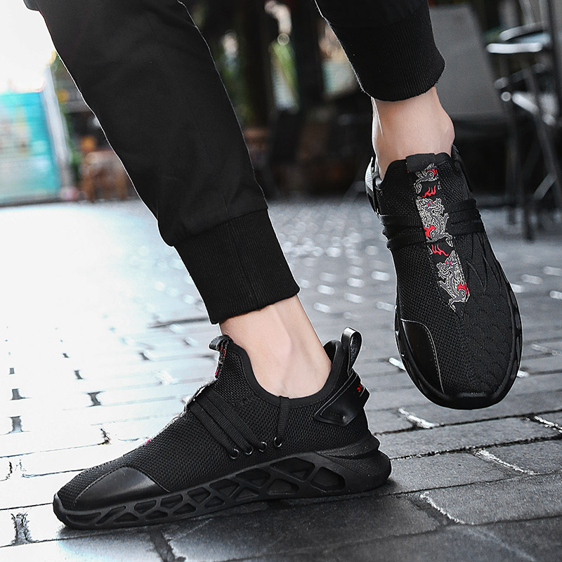 2019 Men Shoes Sneakers White Spring Summer Lace Up Design Men 39 s Casual Shoes Breathable Mesh Adult Sneakers Male Footwear in Men 39 s Casual Shoes from Shoes