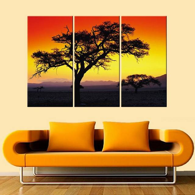 Tree Wall Art Modern Giclee Canvas Prints Artwork Contemporary ...