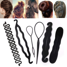 2Pcs Women Magic Hair Twist Hair Styling Tools