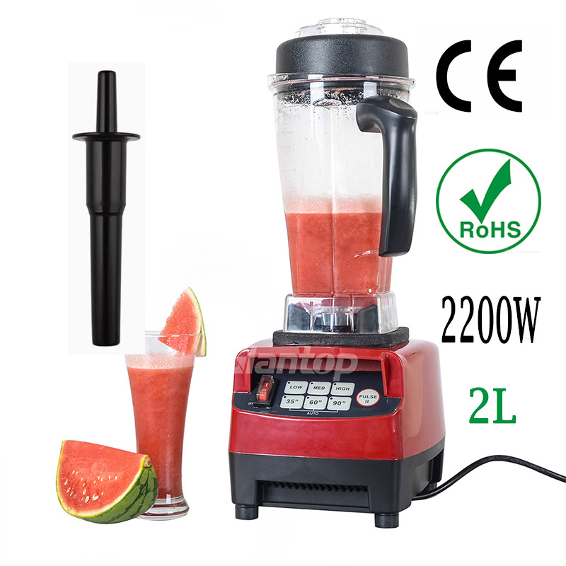 2200W New High Performance Pro Commercial Home 2L Fruit Smoothie Kitchen Blender Mixer Juicer 3HP 45000RPM