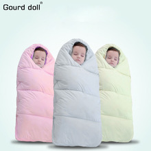 100% Cotton Envelope For Newborns Four Seasons Baby Sleeping Bag Sleepsacks wrap Outdoor Brand Infant winter blanket & swaddling