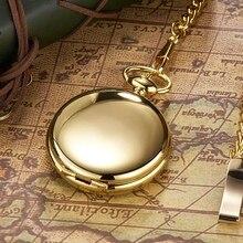 OYW брендовые механические роскошные золотые мужские карманные часы с ручным заводом, винтажные часы со скелетонным циферблатом и подвеской, мужские часы с цепочкой, подарки