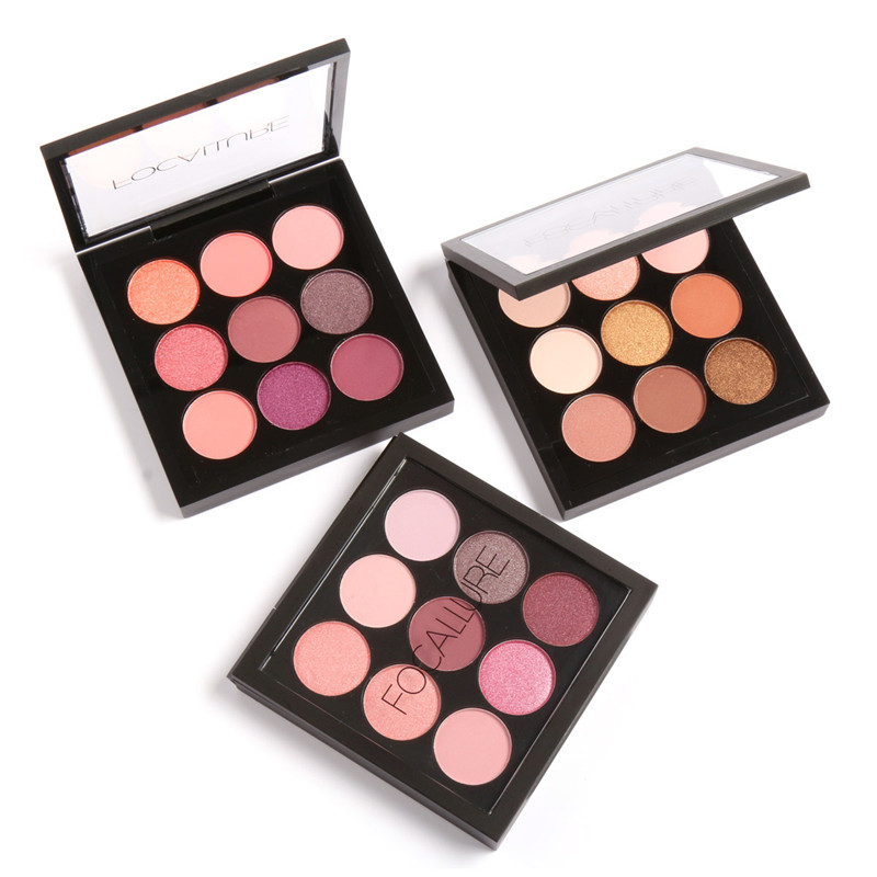 Focallure Eyeshadow Makeup Palette 9 Colors Matte Ultra Shimmer Glitter Powder Highly Pigmented Pro Warm Eye Shadow Makeup Set брюки каррот из льна и вискозы