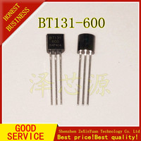 50 pces BT131 600 bt131 to 92 triacs 600 v 1a original novo|null| |  -