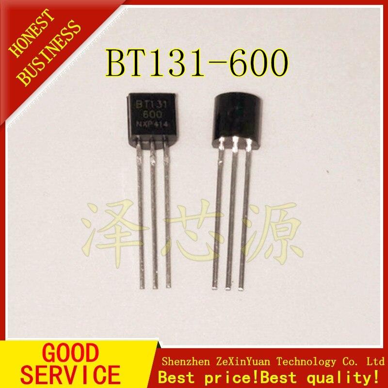 50PCS BT131-600 BT131 TO-92 Triacs 600V 1A New Original
