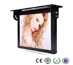 19 22 24 27 pulgadas Wifi autobús LCD TV de Panel/Touch HD tft lcd 3g 4g Bus pantalla de publicidad totem pantalla cctv monitor TV