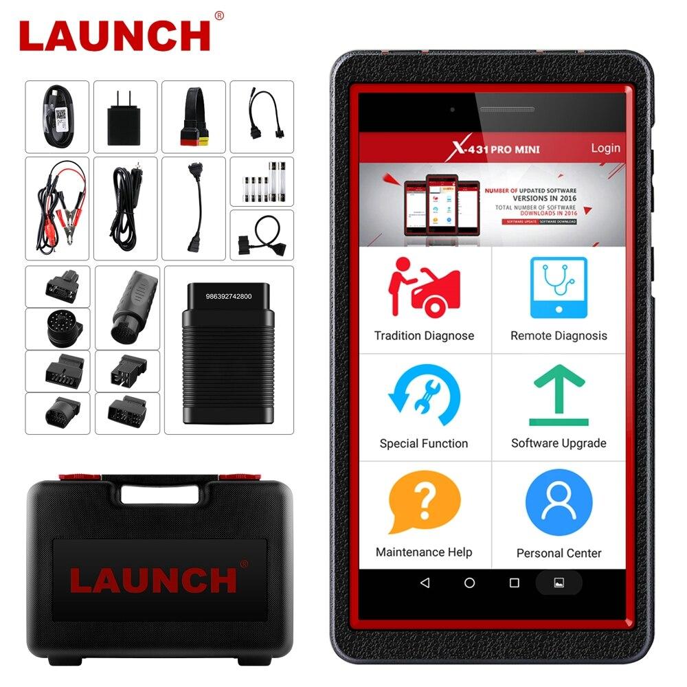 LAUNCH X431 Pro Mini Full System OBD2 Car Diagnostic Tool Wifi Bluetooth Automotive Scanner SAS EPB