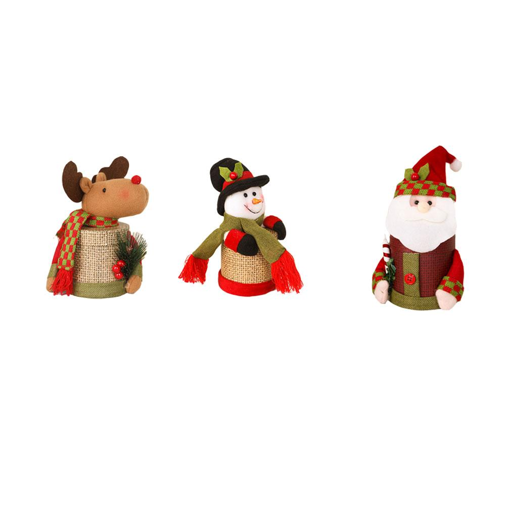 New Christmas Decoration Supplies Christmas Gift Santa Claus Dress Up Children C