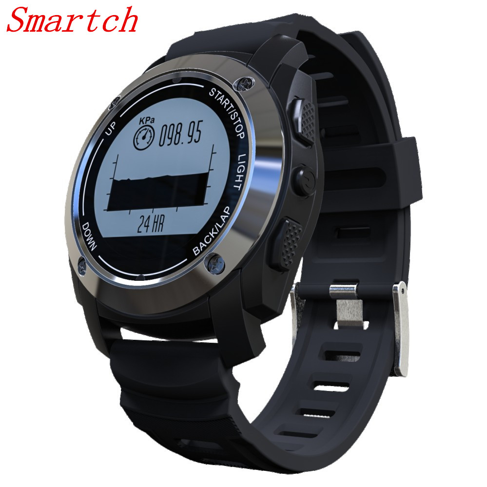 Smartch S928 Bluetooth smartwatch Heart Rate Monitor Wristband pedometer sport GPS Fitness Tracker font b smart