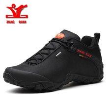 Hiking-Shoes XIANGGUAN Trekking Boots Sneskers Zapatillas Outdoor Sports Walking Men