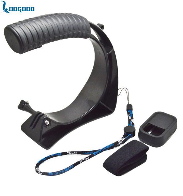 Hand-held monopé conjunto com capa de silicone para xiaomi yi sj4000 gp244 remoto parafuso cordão para gopro hero frete grátis