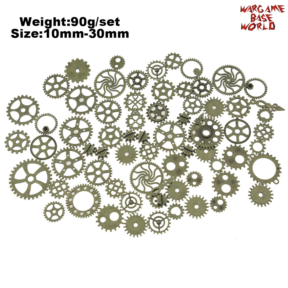 Set 85gr. - Tiny COGS And GEARS Steampunk - Beads Mix