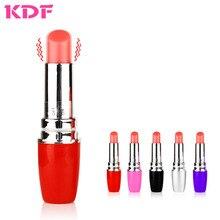 Lipstick Vibrator Sex Toy for Woman Bullet Clitoris Stimulator Masturbation Dildo Low Noise Mini Vibrators Women