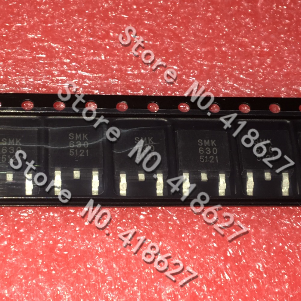 10PCS/LOT SMK630 TO-252 LCD backlight MOS transistor The transistor triode A new spot.Quality assurance.