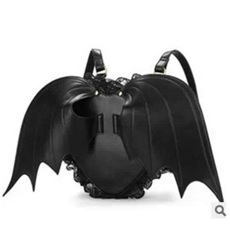 Kawaii Goth Bat Wings Backpack 1