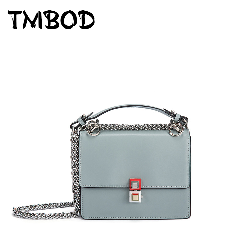 New 2018 Casual Classic Small Flap with Stud Bag Women Cowhide Split Leather Handbags For Female Messenger Bags Bolsas an598