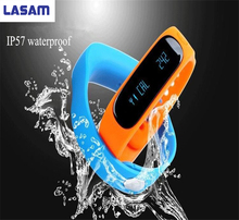 Waterproof  Bluetooth Sensible Exercise Tracker Bracelet E02 Band Name SMS Remind Sport Watch Connecte For IOS Android Telephone
