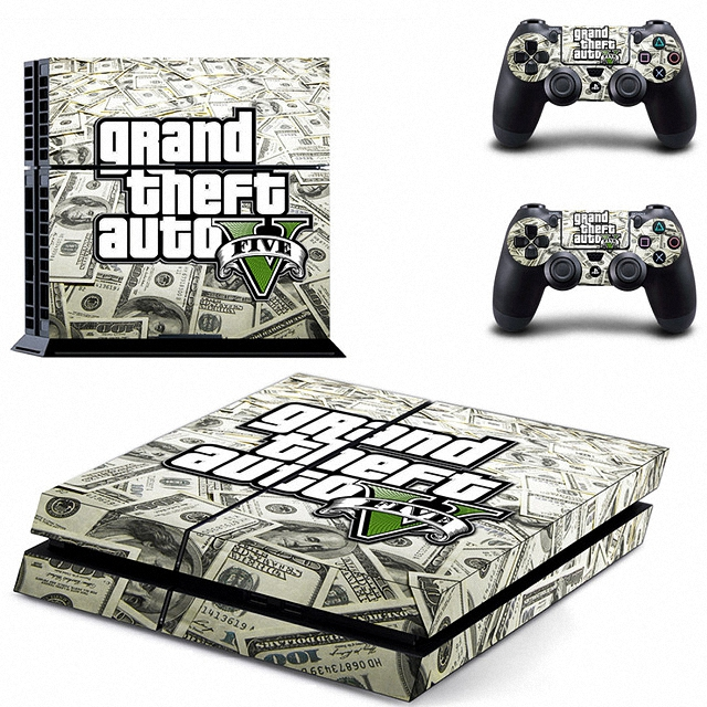 New Grand Theft Auto V Gta 5 Ps4 Skin Sticker Decal Vinyl For Sony Ps4 Playstation