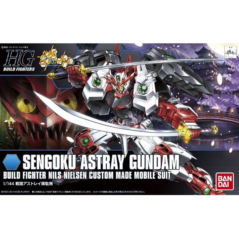 Bandai HG Build Fighters HGBF 007 1/144 Sengoku Astray Gundam Mobile Suit model assembled Robot action figure gunpla juguetes