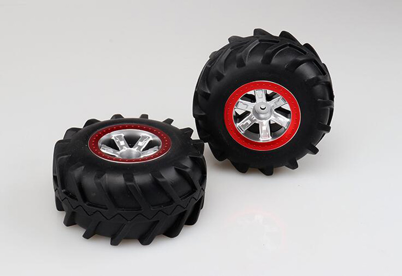 Wltoys 12428 12423 Feiyue FY03 Subotech BG1513 1/12 Scale 2.4GHz RC Car 2.4G 4WD Desert Buggy Off Road wheel tires 106mm bigfoot 1 12 feiyue 1 12 fy01 fy02 fy03 rear gear box assembly fyhbx01 rc car parts