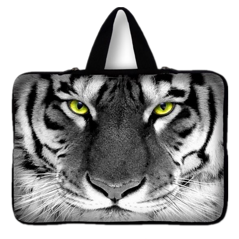 Women Tiger Handle Laptop Bag 7 10 12 13 14 15.6 17 inch Computer Bag PC Sleeve Bag Case Notebook Tablets Protector Pouch #1