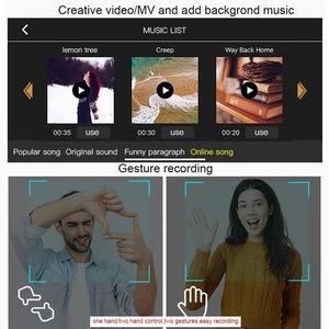 Image 3 - Klapp Drone High definition elektrisch eingestellt kamera Geste fotografie Große kapazität batterie Lange ausdauer Mini UAV