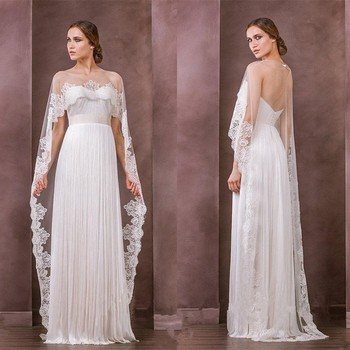 Low Cost Produkt Hochzeit Mantel Neck Sheer Bolero Jacke