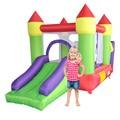 Yard kids mejor regalo combo castillo hinchable moonwalk piscina de bolas tobogán inflable al aire libre de la oferta especial para la zona caliente
