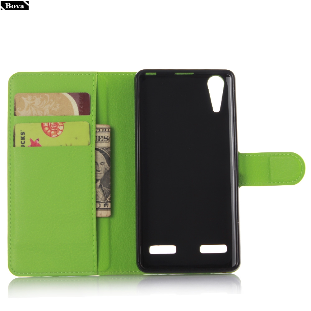 , for Lenovo A6010 Case Pu Leather Wallet Cover Card Holder Phone Case for Lenovo A6010 Protective Case Holster Pouch