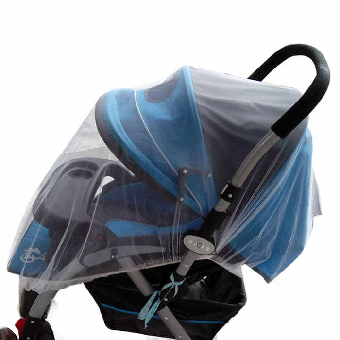 Summer Safe Useful Baby Carriage Insect Full Cover Mosquito Net Baby Bed Netti Insect Net Cover Accessory