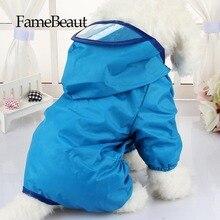 Щенки FameBeaut Цвет Собака Плащ Плащ Высокое Качество Одежда Для Собак С Крышкой Личность Красочные Моды Для Домашних Животных