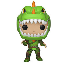 Hot game Fortnites Battle Royale model 443 Tyrannosaurus Rex skin action figures 10cm doll toys collection for gifts