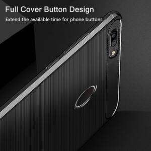 Image 3 - For Huawei Honor 9 Lite Case Honor9 Lite Carbon Fiber Bumper TPU Silicone Protective Back Cover for Huawei Honor9 Lite