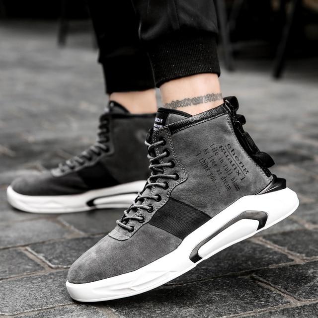 2018 Новинка! Повседневные туфли Для мужчин с дышащий топ мужской высокое качество замшевые кроссовки удобные нескользящие сетки Мужская обувь Tenis Masculino