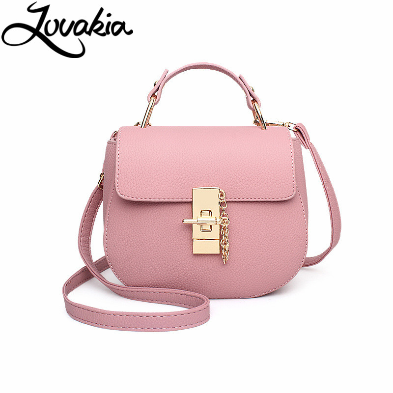 LOVAKIA mini leather women messenger bags good quality women shoulder bag ladies small clutches chain women crossbody bags tote