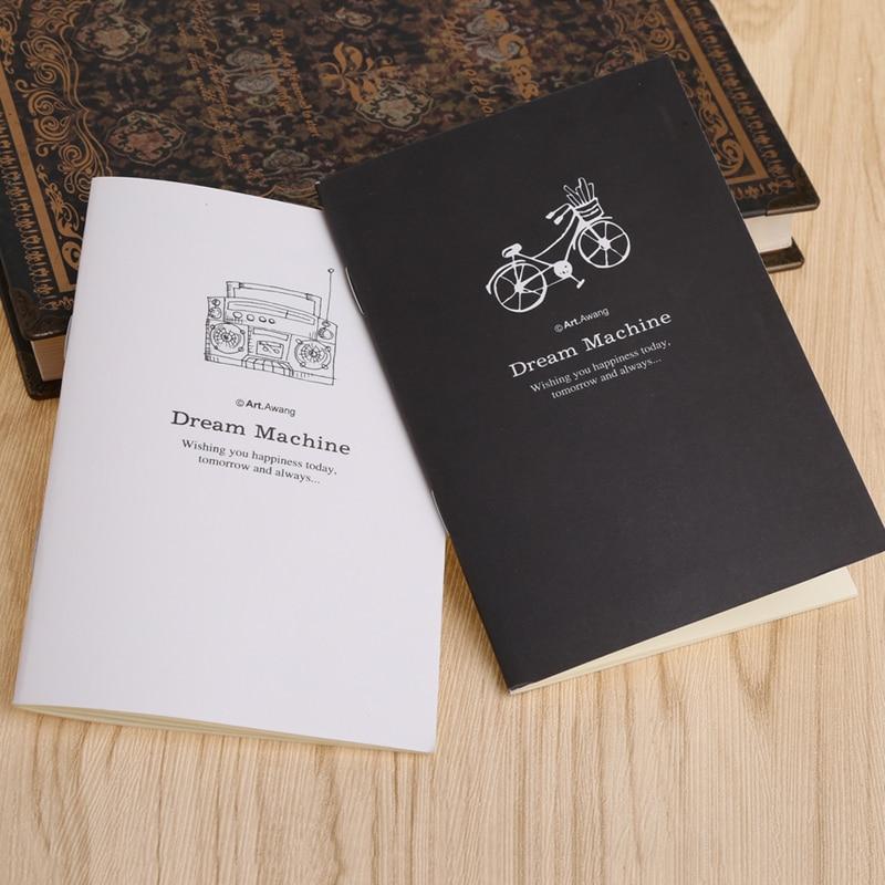 Korean Stationery Mini Notebook Cartoon Small Book Cute Gift School Supplies Student Memo Diary Planner