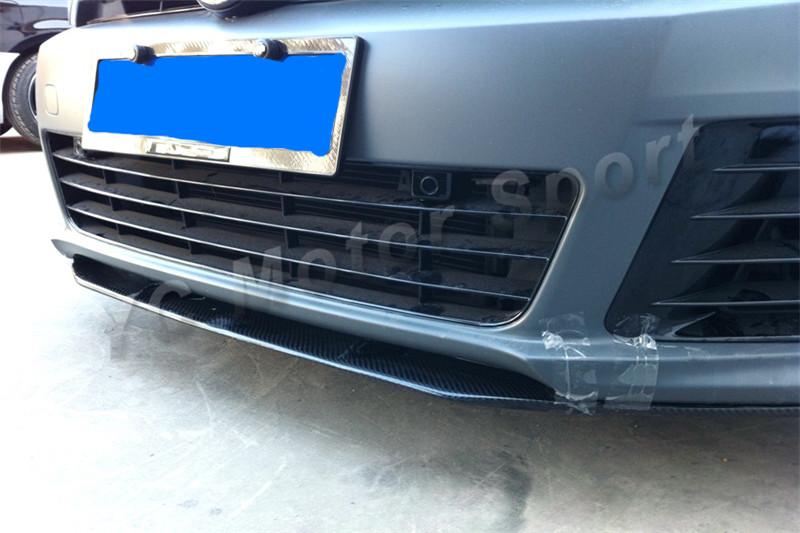 2010-2012 Volkswagen Golf R Revozport Style Front Lip FRP (33)