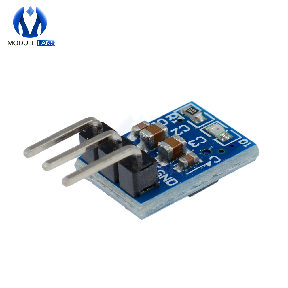 5pcs 5V To 3.3V DC-DC Step Down Power Supply Buck Module AMS1117 800MA Automatic Adjustable Boost Board Start Limit Voltage