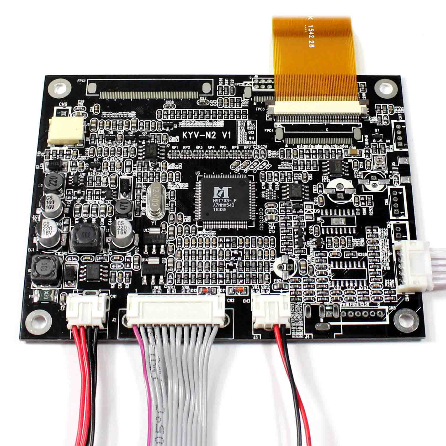 """VGA AV LCD Controller Board With 5.6/"""" 640x480 AT056TN52 LCD With Touch Panel"""