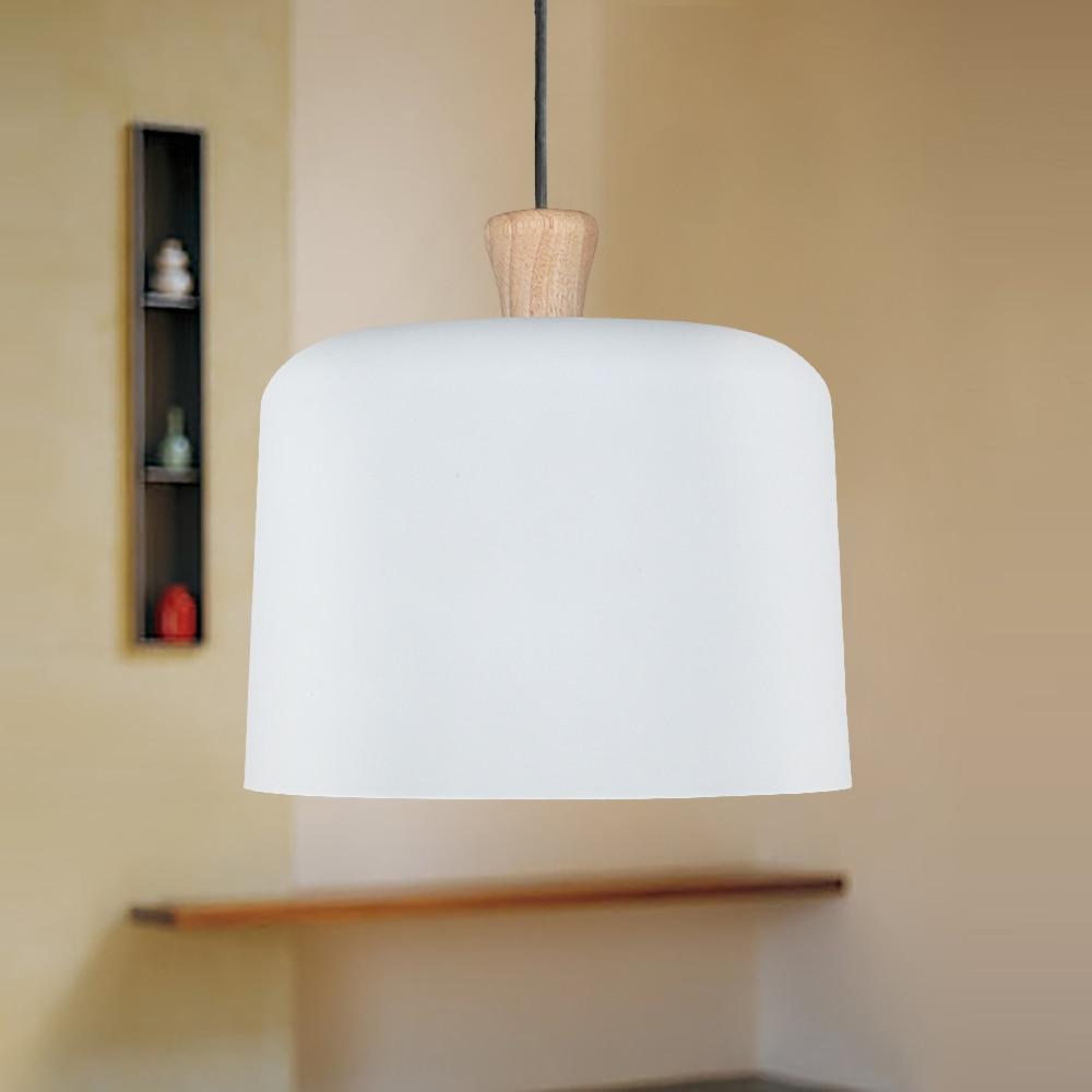 Buy industrial modern style art pendant for Modern white pendant lighting
