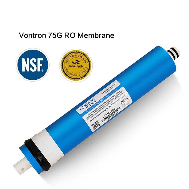 Nouveau Vontron 75 gpd RO Membrane Pour Filtre À Eau Purificateur Traitement Système D'osmose Inverse NSF National RU entrepôt Freeship